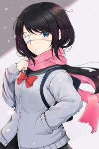 Rating: Safe Score: 9 Tags: eyepatch seifuku shouju_ling sweater User: animeprincess