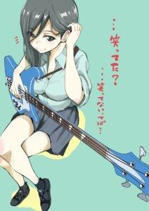 Rating: Safe Score: 29 Tags: cleavage guitar seifuku takata_koutarou User: saemonnokami