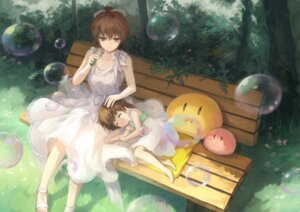 Rating: Safe Score: 35 Tags: bzerox clannad dress furukawa_nagisa okazaki_ushio User: Mr_GT