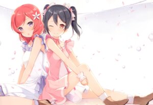 Rating: Safe Score: 72 Tags: 6u dress love_live! nishikino_maki yazawa_nico User: charunetra
