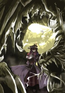 Rating: Safe Score: 9 Tags: patchouli_knowledge sorano_eika touhou User: Radioactive
