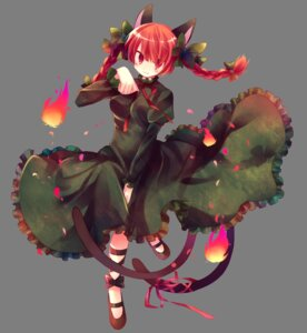 Rating: Safe Score: 18 Tags: animal_ears ibara_riato kaenbyou_rin tail touhou transparent_png User: charunetra