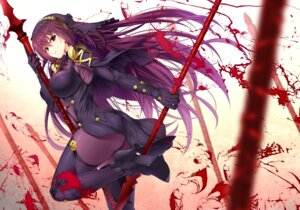 Rating: Questionable Score: 48 Tags: armor ass blood bodysuit emanon_123 fate/grand_order heels scathach_(fate/grand_order) thighhighs weapon User: mash