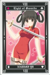 Rating: Safe Score: 14 Tags: chinadress narumi_yuu sword tarot User: Radioactive