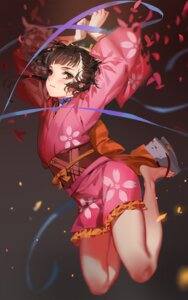 Rating: Safe Score: 86 Tags: alphonse kimono koutetsujou_no_kabaneri mumei User: Mr_GT