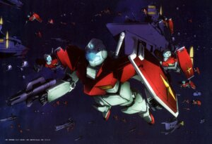 Rating: Safe Score: 8 Tags: gundam mecha mobile_suit_gundam tsunoda_katsutoshi User: drop