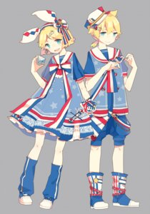 Rating: Safe Score: 8 Tags: kagamine_len kagamine_rin saya556 vocaloid User: dyj
