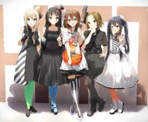 Rating: Safe Score: 26 Tags: akiyama_mio dress guitar hirasawa_yui k-on! kotobuki_tsumugi lolita_fashion nakano_azusa pentagon_(railgun_ky1206) tainaka_ritsu thighhighs User: Mr_GT