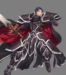 Rating: Questionable Score: 3 Tags: armor fire_emblem fire_emblem:_souen_no_kiseki fire_emblem_heroes izuka_daisuke nintendo shikkoku_no_kishi sword transparent_png zelgius User: Radioactive