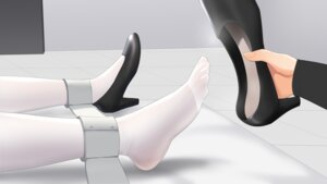 Rating: Safe Score: 21 Tags: agent_aika aika_(series) black_delmo bondage feet heels m.vv pantyhose vivian_(mvv) User: Dreista