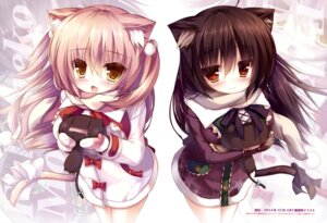 Rating: Safe Score: 65 Tags: animal_ears nekomimi syroh tail User: drop