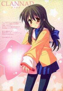 Rating: Safe Score: 7 Tags: clannad hinata_mutsuki ibuki_fuuko pantyhose paper_texture seifuku User: Lore