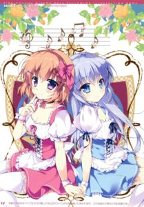 Rating: Safe Score: 50 Tags: cleavage dress gochuumon_wa_usagi_desu_ka? kafuu_chino mikeou pink_chuchu thighhighs User: Twinsenzw