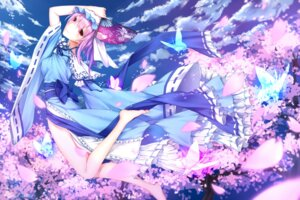 Rating: Safe Score: 26 Tags: kurisu_tina saigyouji_yuyuko touhou wallpaper User: Mr_GT