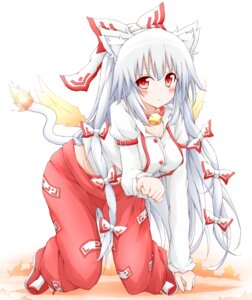 Rating: Safe Score: 28 Tags: animal_ears fujiwara_no_mokou karamone-ze tail touhou User: 椎名深夏