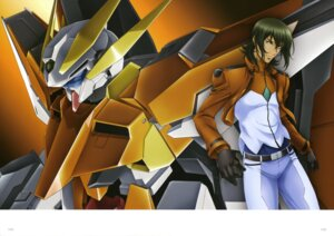 Rating: Safe Score: 9 Tags: allelujah_haptism chiba_michinori gundam gundam_00 gundam_00:_a_wakening_of_the_trailblazer gundam_harute male mecha ootsuka_ken uniform User: Zarbaj