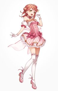 Rating: Safe Score: 37 Tags: dress heels hotechige love_live!_school_idol_festival love_live!_school_idol_festival_all_stars tagme thighhighs uehara_ayumu User: Spidey
