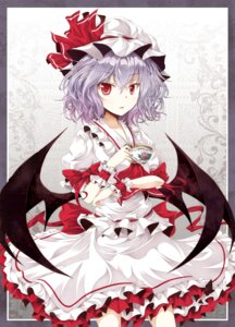 Rating: Safe Score: 41 Tags: remilia_scarlet tamago_gohan touhou wings User: Radioactive