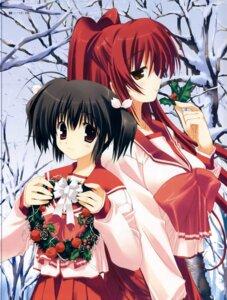 Rating: Safe Score: 15 Tags: kousaka_tamaki mitsumi_misato seifuku to_heart_2 to_heart_(series) yuzuhara_konomi User: Kalafina