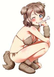 Rating: Questionable Score: 43 Tags: animal_ears bikini cleavage love_live!_sunshine!! sankuro swimsuits tail watanabe_you User: Radioactive