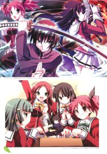 Rating: Questionable Score: 6 Tags: gun seifuku sword tsurugi_hagane yomikiri_-issekai_no_jubelt- User: fireattack