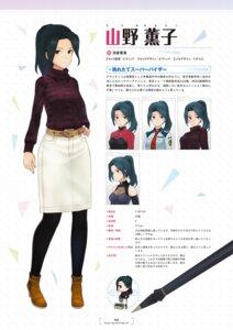 Rating: Questionable Score: 8 Tags: alice_gear_aegis character_design chibi heels sweater tagme uniform yamano_kaoruko User: Radioactive