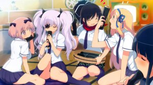 Rating: Safe Score: 33 Tags: eyepatch seifuku senran_kagura yaegashi_nan User: fireattack