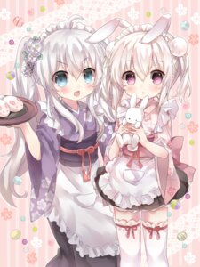 Rating: Safe Score: 66 Tags: animal_ears bunny_ears lolita_fashion maid shiodome_oji thighhighs wa_lolita wa_maid User: Mr_GT
