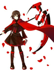 Rating: Safe Score: 32 Tags: dress ruby_rose rwby ryo_neko weapon User: zero|fade