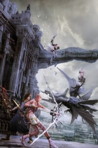 Rating: Safe Score: 31 Tags: armor bodysuit caius_ballad cg dress final_fantasy final_fantasy_xiii final_fantasy_xiii-2 lightning noel_kreiss serah_farron square_enix sword thighhighs User: Radioactive
