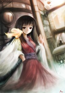 Rating: Safe Score: 17 Tags: helrouis houraisan_kaguya touhou User: hobbito
