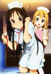 Rating: Safe Score: 71 Tags: akiyama_mio k-on! kotobuki_tsumugi nurse okano_fumie User: acas