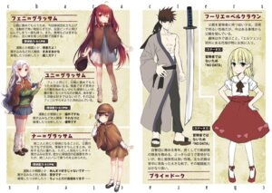 Rating: Safe Score: 21 Tags: dress komeshiro_kasu profile_page sketch sword teihen_kenshi_wa_musume_to_kurasu User: kiyoe