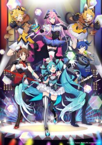 Rating: Safe Score: 19 Tags: animal_ears cleavage hatsune_miku horns kagamine_len kagamine_rin magical_mirai megurine_luka nekomimi pantyhose sogawa66 tail thighhighs vocaloid User: Mr_GT