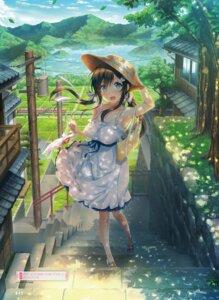 Rating: Safe Score: 78 Tags: aikagi_(azarashi_soft) aikagi_~after_days~ azarashi_soft dress gintarou summer_dress takanashi_shiori User: Twinsenzw
