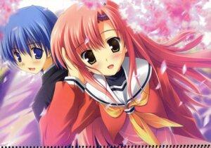 Rating: Safe Score: 28 Tags: ayasaki_hayate hayate_no_gotoku ikegami_akane katsura_hinagiku seifuku User: admin2
