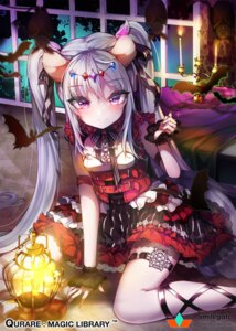 Rating: Safe Score: 51 Tags: animal_ears dress garter kanola_u qurare:magical_library see_through User: Mr_GT