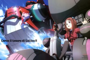 Rating: Safe Score: 17 Tags: galilei_donna hozuki_ferrari mecha suzuki_gou User: drop