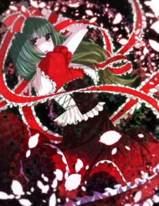 Rating: Safe Score: 18 Tags: dress ice_(aitsugai) kagiyama_hina touhou User: Mr_GT