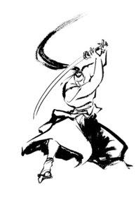 Rating: Safe Score: 3 Tags: kibagami_genjuro male monochrome samurai_spirits shiroi_eiji snk User: Radioactive