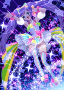 Rating: Questionable Score: 35 Tags: manaka_lala pantsu pripara shimapan suzume_inui thighhighs User: Mr_GT
