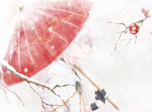 Rating: Safe Score: 8 Tags: coro96 male touken_ranbu tsurumaru_kuninaga umbrella User: charunetra