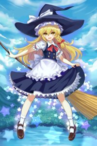Rating: Safe Score: 16 Tags: kirisame_marisa qihai_lunpo skirt_lift touhou witch User: Randeel