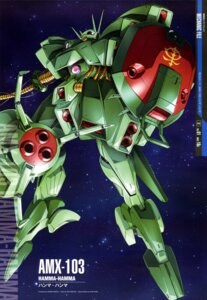 Rating: Safe Score: 6 Tags: gun gundam gundam_zz maeda_seimei mecha weapon zeta_gundam User: drop