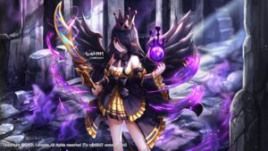 Rating: Safe Score: 26 Tags: cleavage dungeon_fighter lunacle pointy_ears weapon wings User: Mr_GT