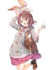 Rating: Safe Score: 14 Tags: dress pokemon pokemon_sword_and_shield skirt_lift ukiwakisen yuuri_(pokemon) User: Dreista