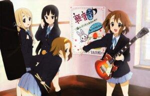 Rating: Safe Score: 30 Tags: akiyama_mio detexted guitar hirasawa_yui horiguchi_yukiko k-on! kotobuki_tsumugi seifuku tainaka_ritsu User: petopeto