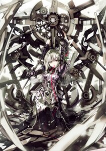 Rating: Safe Score: 78 Tags: clockwork_planet dress eefy pantyhose ryuzu shino_(eefy) User: yong