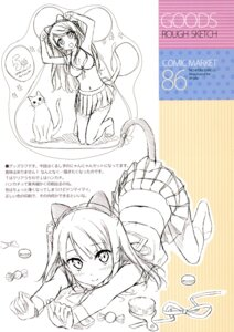 Rating: Safe Score: 29 Tags: animal_ears cleavage kantoku kurumi_(kantoku) neko nekomimi shizuku_(kantoku) sketch tail User: Hatsukoi