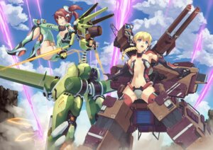 Rating: Questionable Score: 27 Tags: eichisu gun loli mecha mecha_musume sword thighhighs User: Radioactive